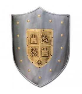Shield Medieval Castile and Leon