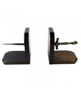 Bookend medieval sword