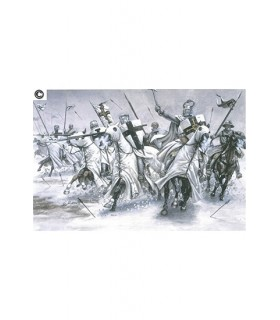 Teutonic Knights Poster (48x33 cms.)