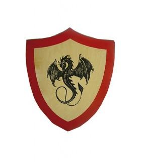 Coat black dragon for kids
