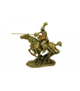 Medieval Knight Horse Figure