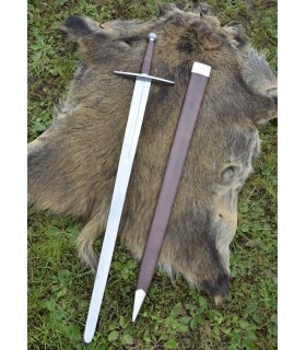Crusader Sword with scabbard, functional
