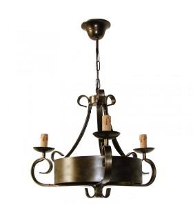 Forging 5-arm lamp