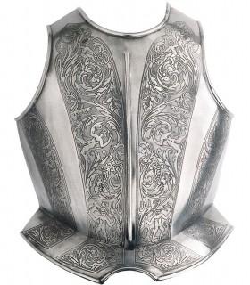 Peto recorded for armor