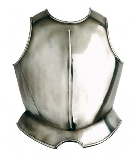 Smooth breastplate armor