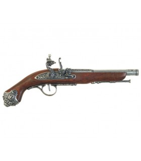 Percussion pistol, the eighteenth century