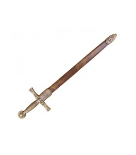 Excalibur sword letter opener with case