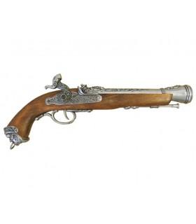 Italian percussion pistol, the eighteenth century