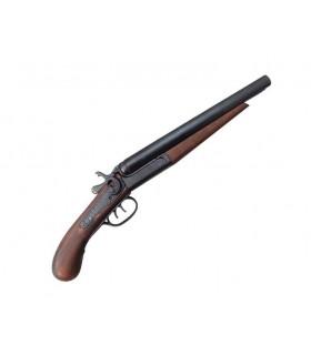2 guns gun cut, USA 1881