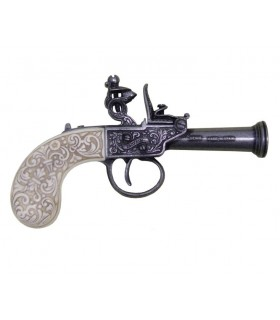 English flintlock pistol, year 1798