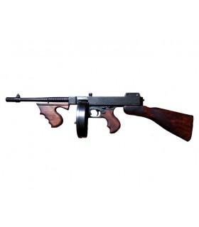 Thompson submachine gun with drum, USA 1928