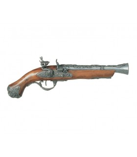Blunderbuss pistol, the eighteenth century London