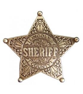 Sheriff 5 Point Star