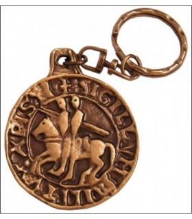 Templar Seal Keychain