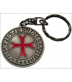 Templar Keyring Sigillum Militum Xristi