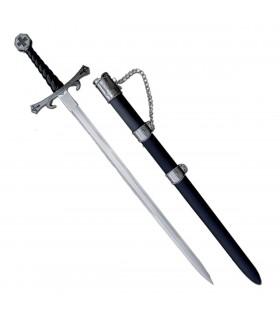 Templar Sword with Sheath (93 cms.)