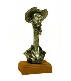 Figura Busto de Don Quijote