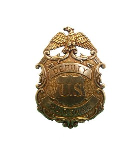 Marshal Badge with eagle