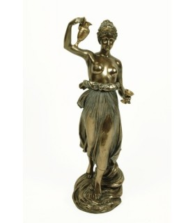 Figura griega Hebe, 31 cms.