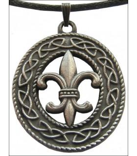 Celtic Fleur De Lis Pendant