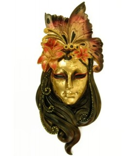 Lily aged Venetian mask