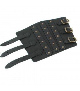 Arm Bracers black Roman