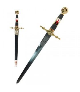Templar dagger decorated