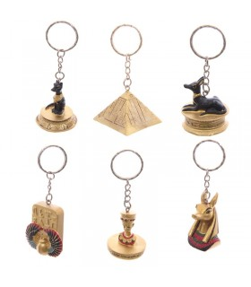 Egyptians Pack 6 keychains