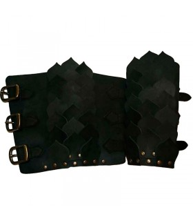 Arm Bracer black flakes