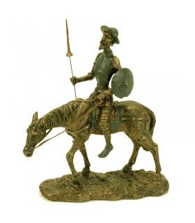 Figure Don Quixote on horseback