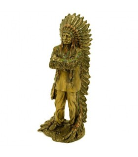 Indian chief sitting bull Figure