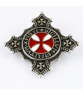 Templar brooch