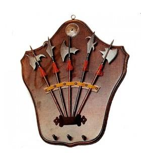 medieval keys hanging bracket