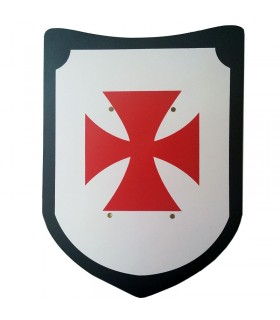 Templar sword and shield in September