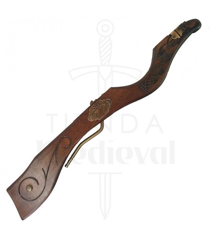 Medieval Crossbow deer head, 60 cm
