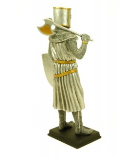 Templar warrior figure, 31.5 cms.