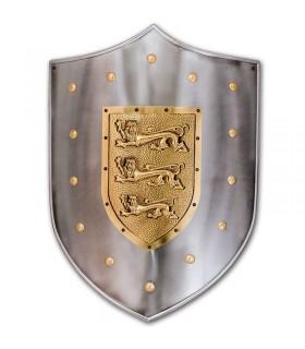 Metal shield Lions