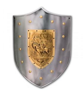 Guerrero medieval shield