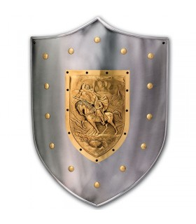 Guerrero medieval shield