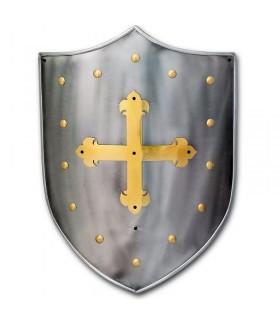 Medieval shield Cruz