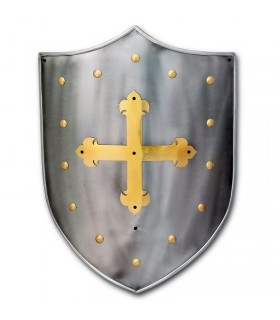 Medieval shield Cruz