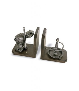Bookends helmet and ashtray
