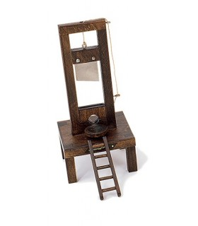 French guillotine (14x14x31 cm.)