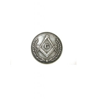 Masonic brooch Seal