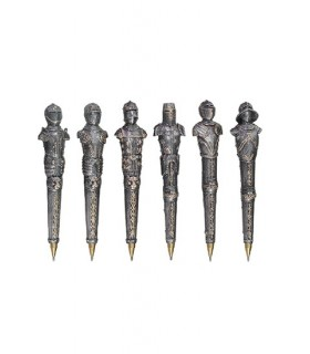 Medieval collection 6 pens