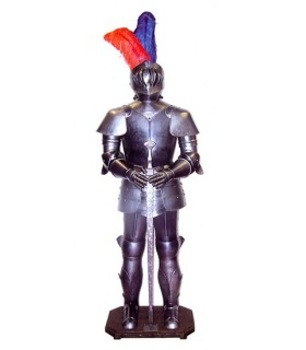 medieval armor with sword