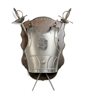 Panoply breastplate and sword