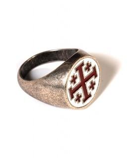 Templar crosses ring