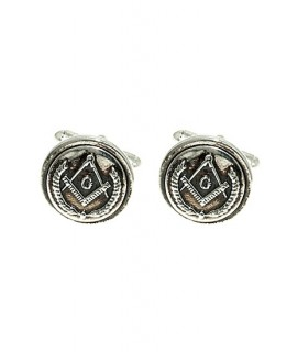 Cufflinks Masonic seal