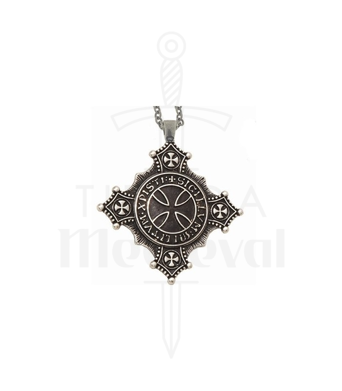 Templar cross pendant medieval shop templar cross pendant aloadofball Image collections